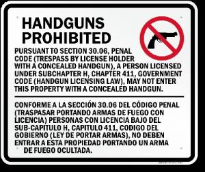 30.06 - Texas Gun Laws