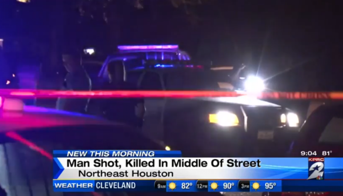 man killed in N Houston